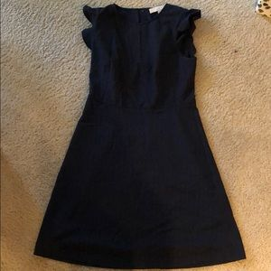 Ann Taylor LOFT  blue pin stripe dress size 2
